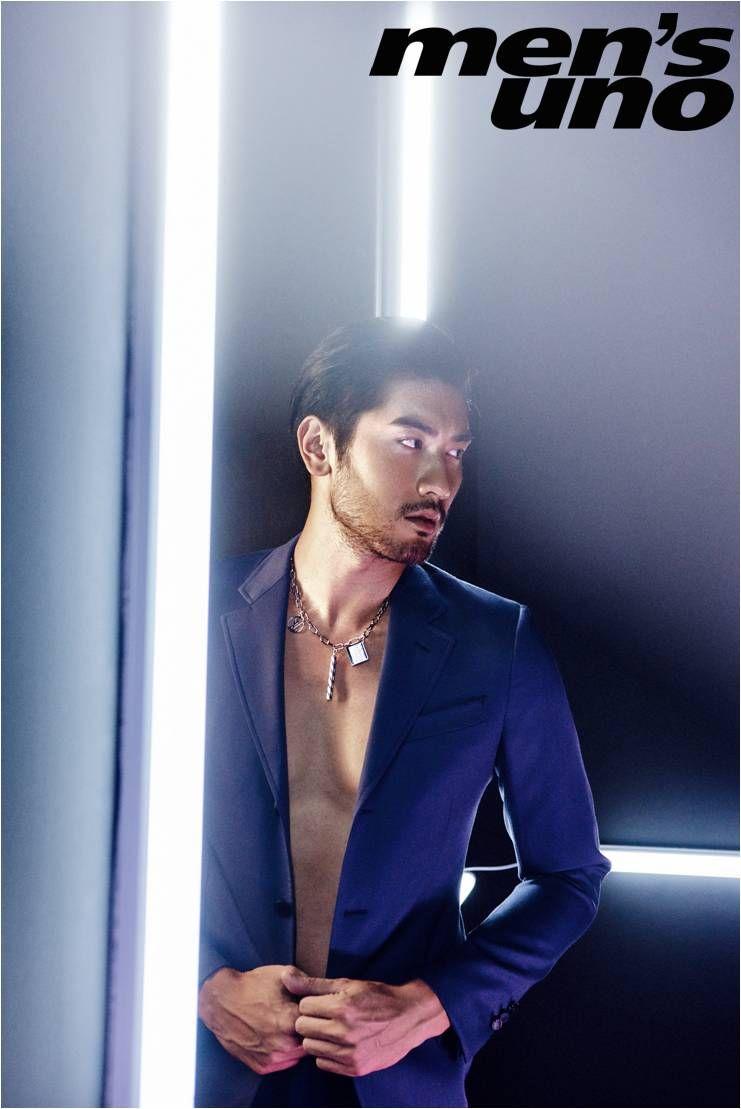 "faefever: "" Godfrey Gao for Men's Uno Taiwan """
