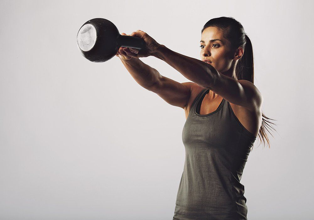 Kettlebell Squat and Swing