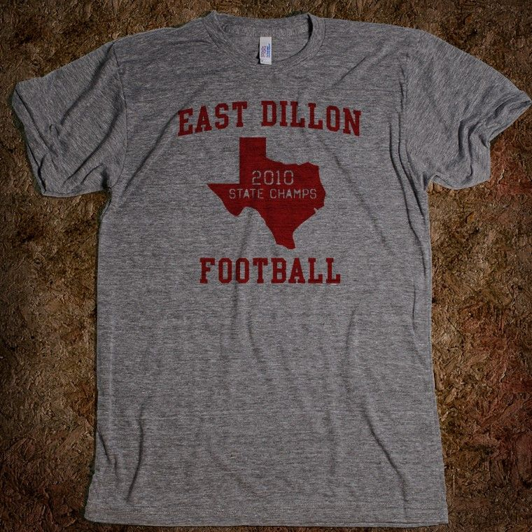 East Dillon Football Shirt - 2010 State Champs