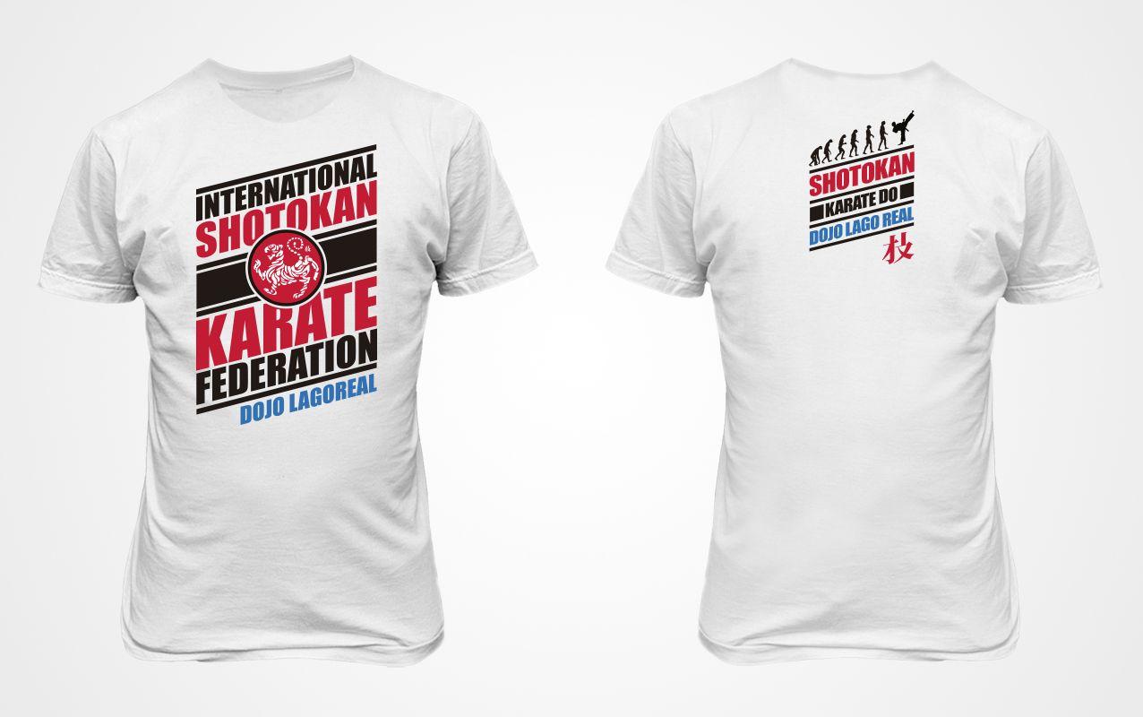 Diseño de playeras para torneo de Karate Shotokan Diseños De Playeras 1728dea6861c1