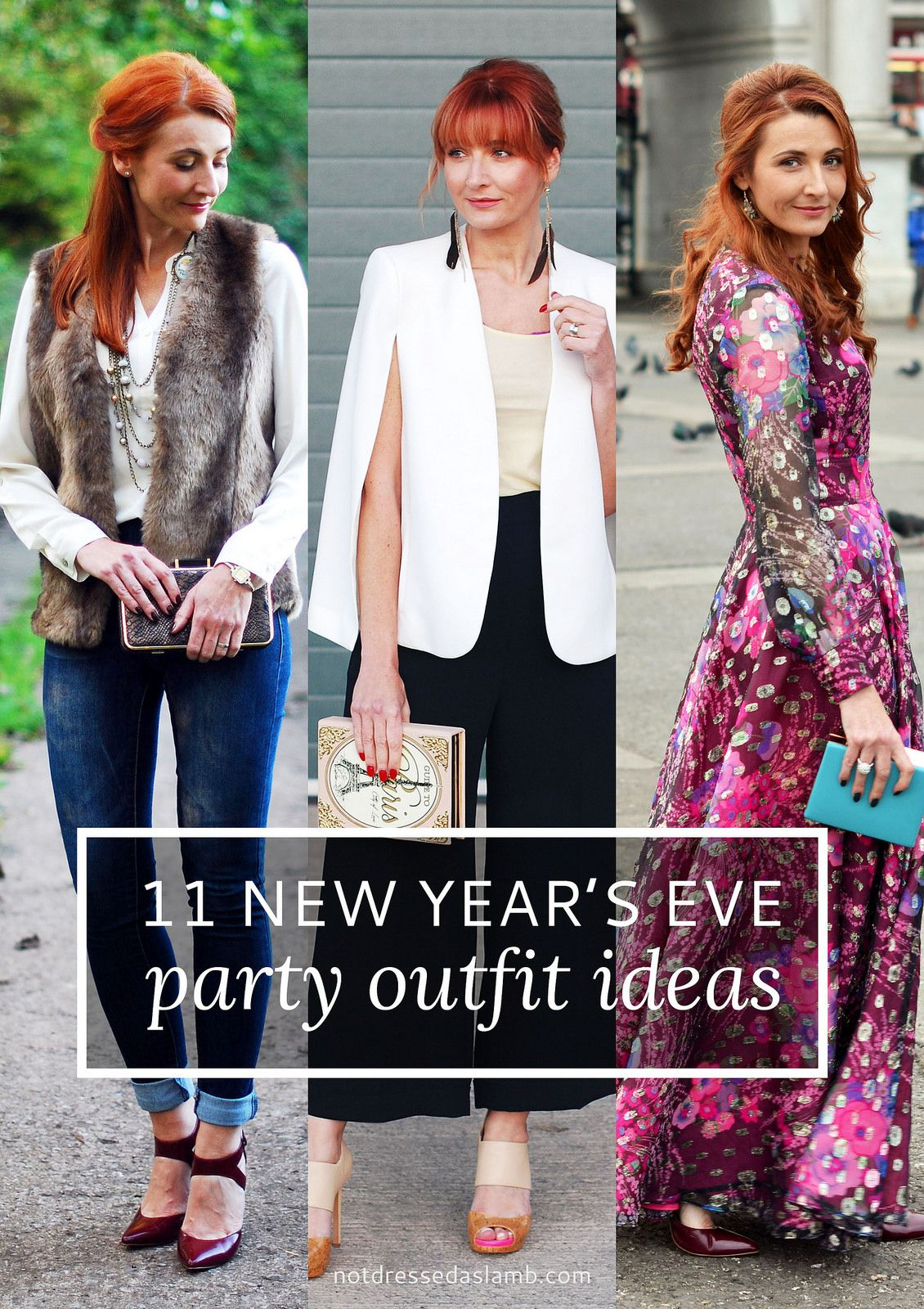 11 New Year's Eve Party Outfit Ideas For Over 40 Women