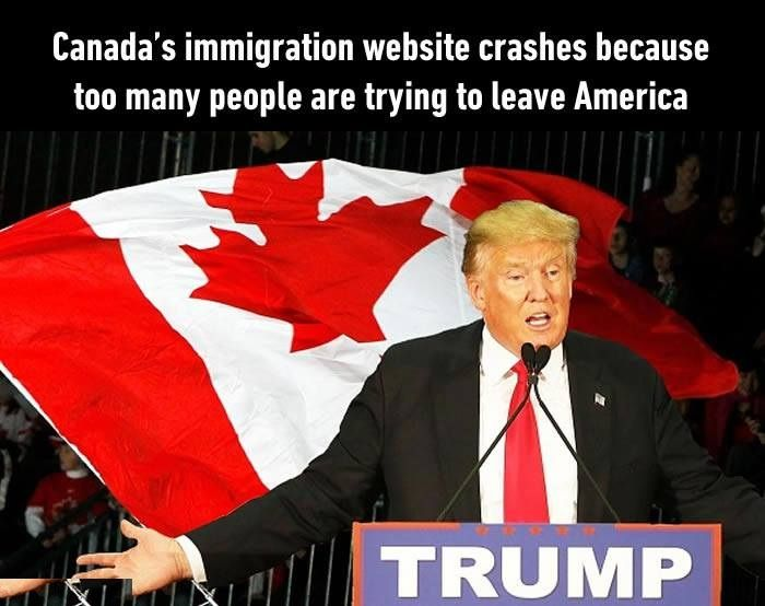 Canada S Immigration Website Funny Images Life Humor Funny Memes