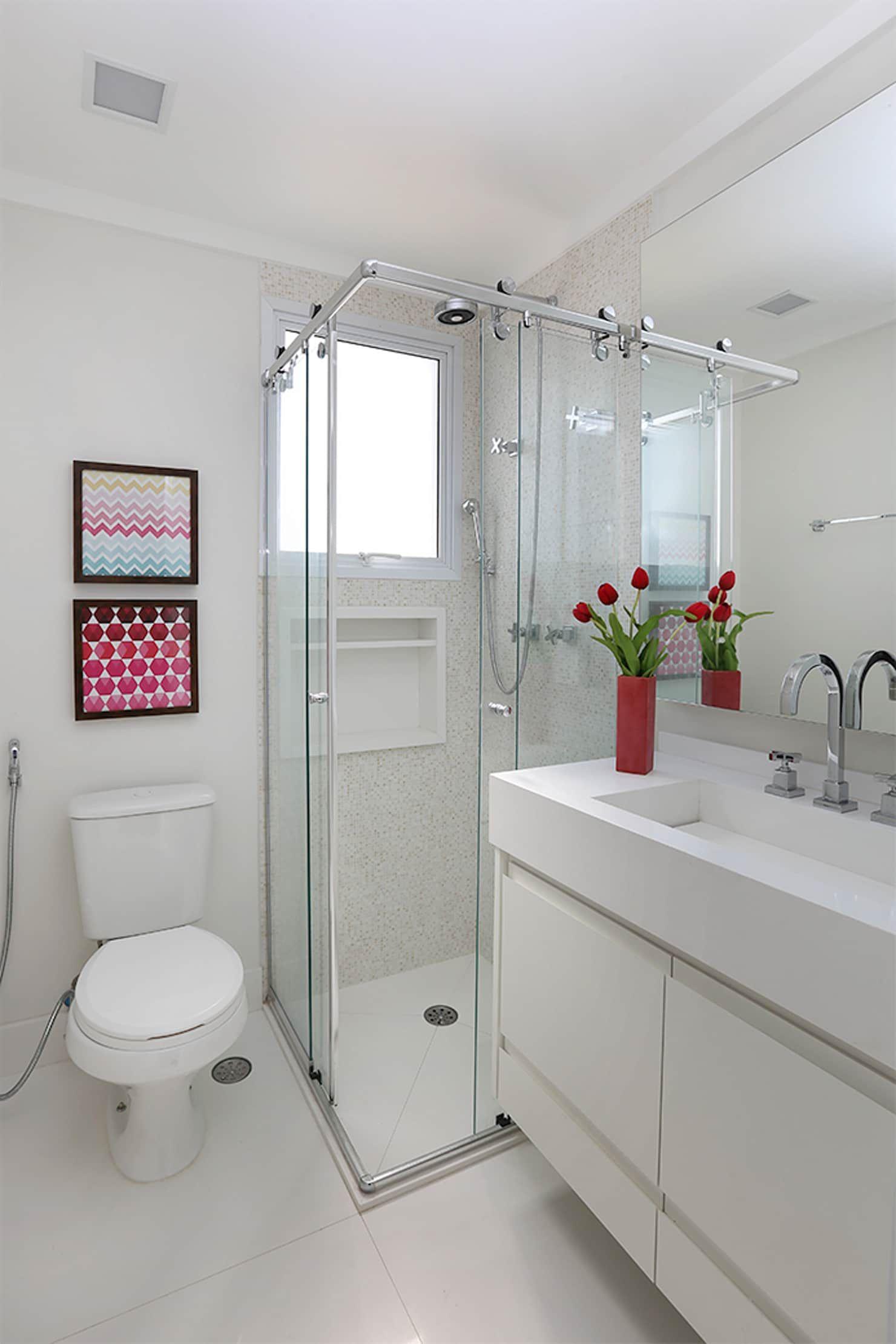 Banheiro Master Banheiros Ecléticos Por Duda Senna Arquitetura E Decoração