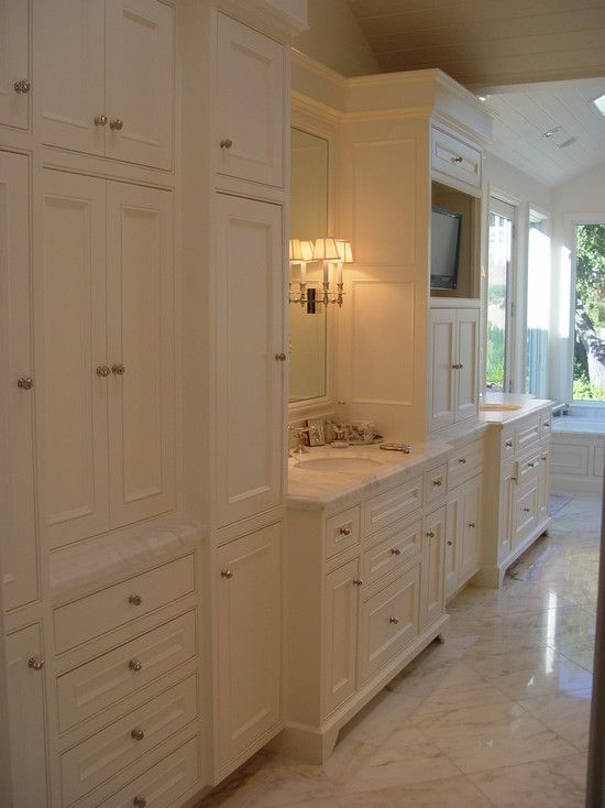 Built In Bathroom Cabinets One Can