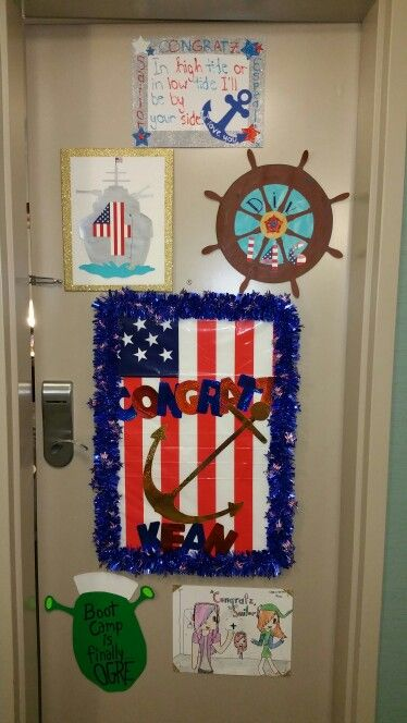 Navy Pir Hotel Door Decoration A Tradition For The