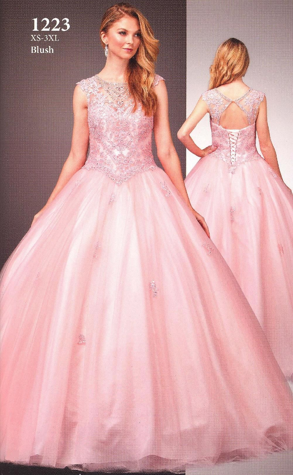 Quinceanera Dresses Prom Dresses by DANCING QUEEN<BR>aqn1223<BR ...