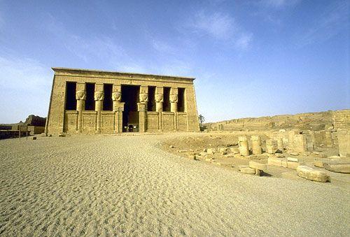 Temple of the Goddess Hathor, Dendera, Egypt
