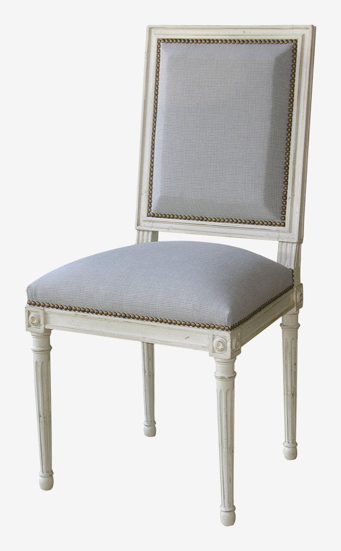 #chaiseclassique grise pour #decochalet intemporelle