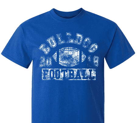 Fb Design Your Own Clothes | High School Impressions Fb 014 W Custom Football Team T Shirts