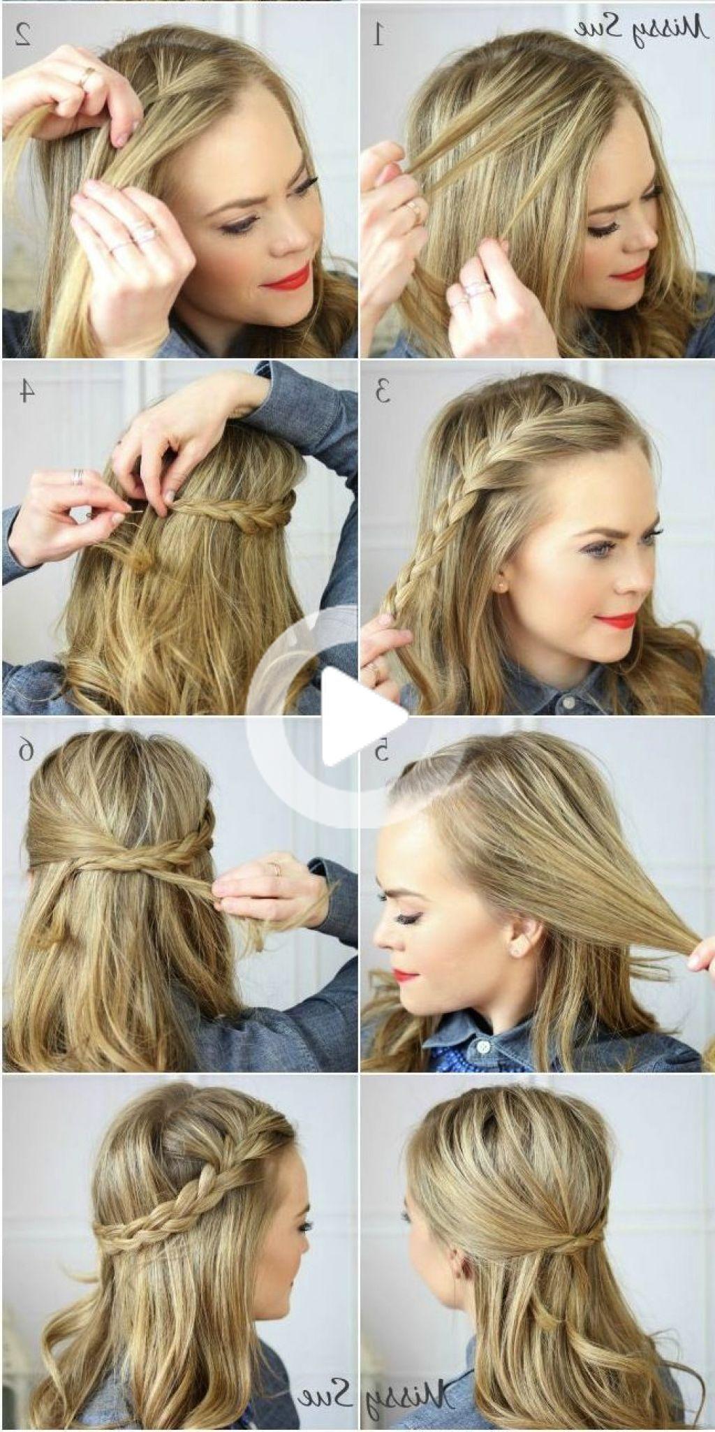Cute Hairstyles For Medium Hair Easy To Do On Yourself Medium Hairstyle Cute E Medium Hair Styles Cute Hairstyles For Medium Hair Medium Length Hair St Medium Hair