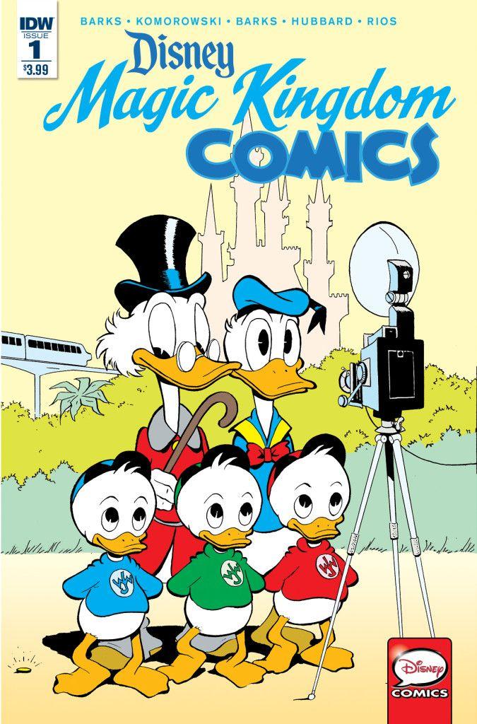 Disney Comic Book May Solicitations