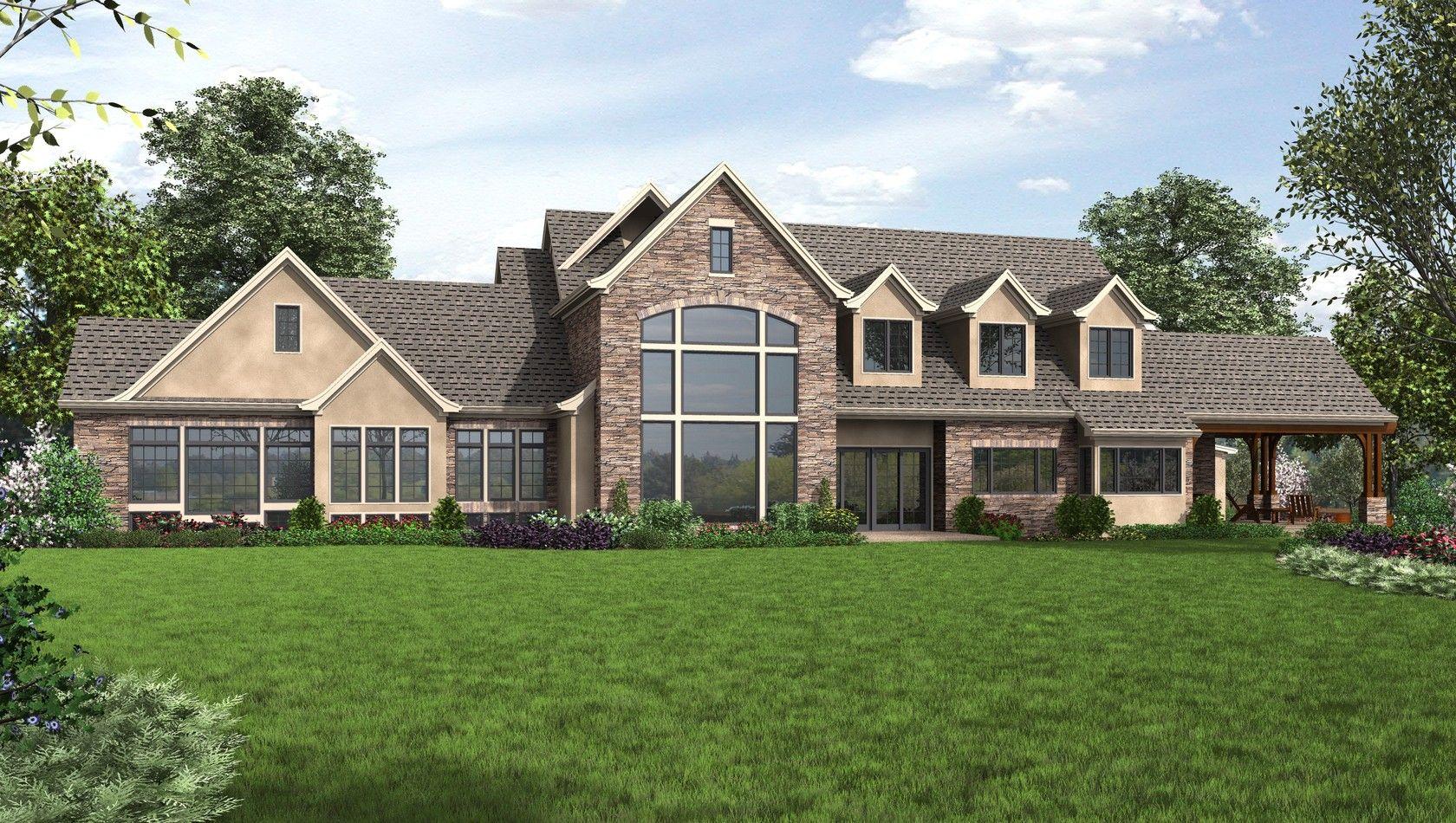 House Plans for The Belle Reve design