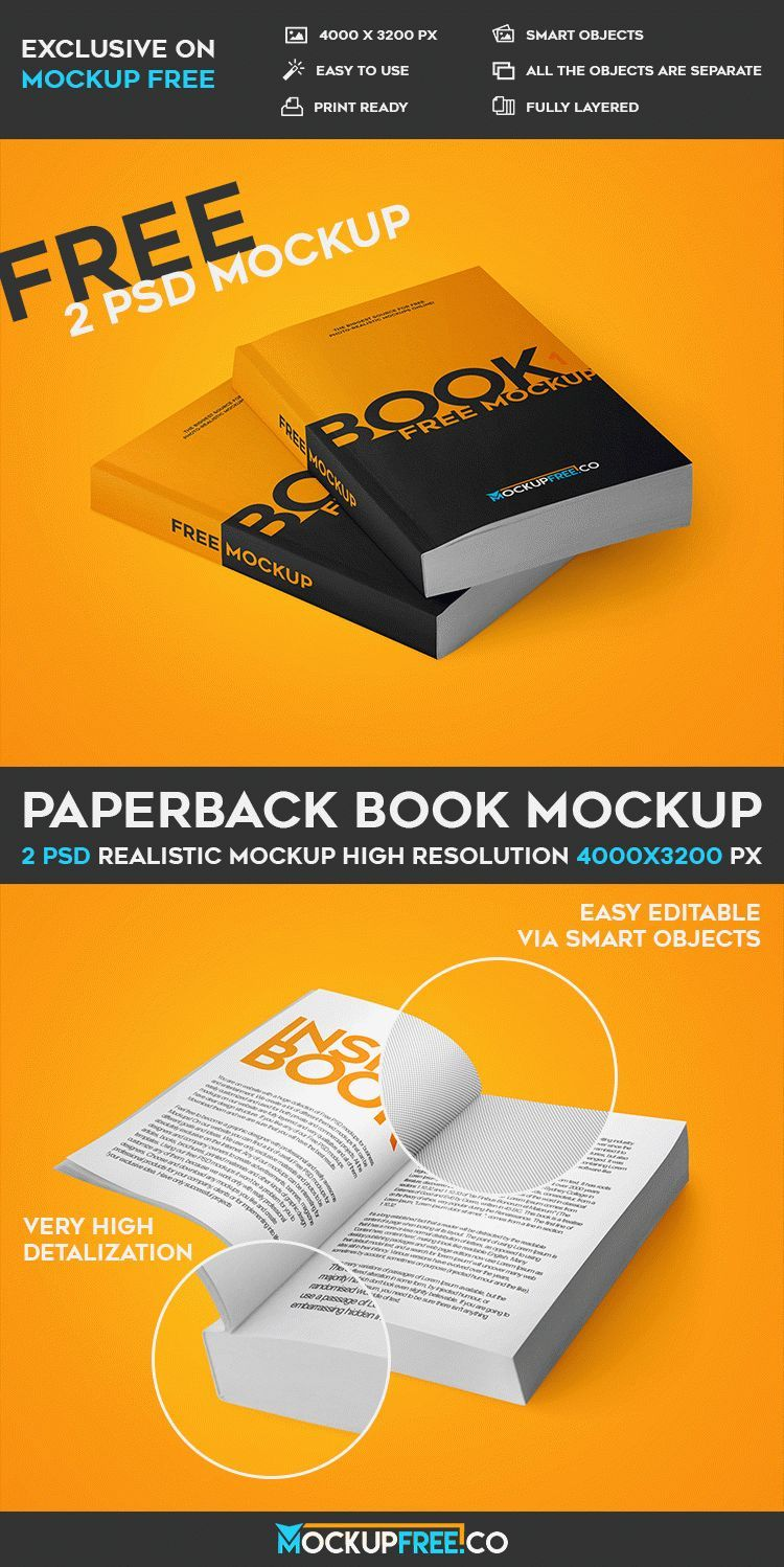 Book Cover Template Psd Free Download