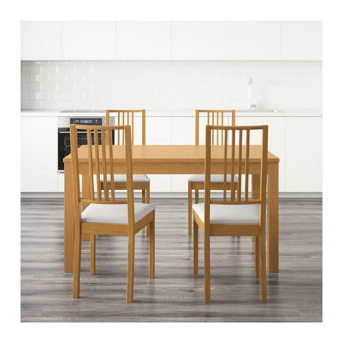 BJURSTA / BÖRJE Mesa con 4 sillas - IKEA | Casa ❤ | Pinterest ...