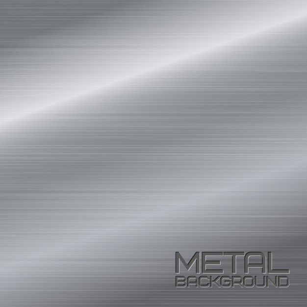 Shiny Abstract Metal Background With Steel Silver Chrome Surface Vector Illustration Free Vector Free Vector Metal Background Vector Illustration Vector Free