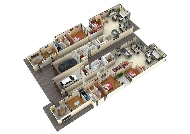Beautiful Basement Floor Plans With Unique Design Rumah