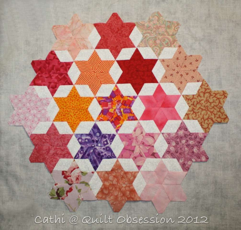 seven sisters star quilt pattern - Google Search quilt Pinterest Star quilts, Star quilt ...