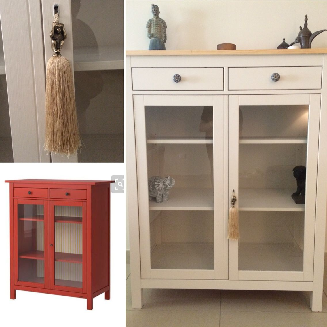 IKEA Hemnes Linen Cabinet Upcycle. So Glad I Did This.