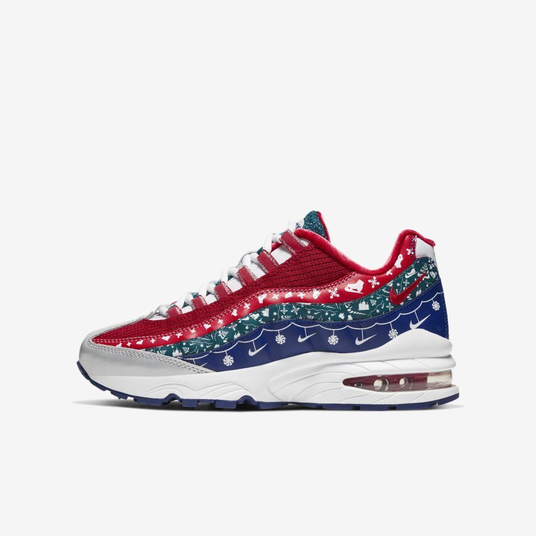 nike air sale, 95 Kids Shoes WhiteGreyRed, nike air max