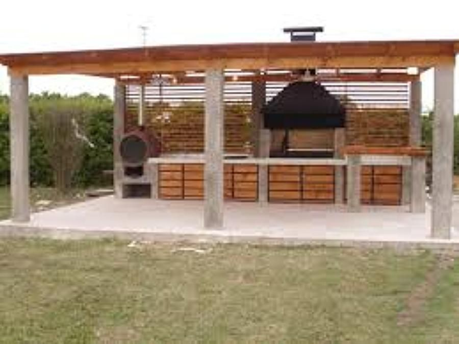 Busco un presupuesto para realizar un cobertizo de auto 4 for Cobertizo de jardin de techo plano de pvc
