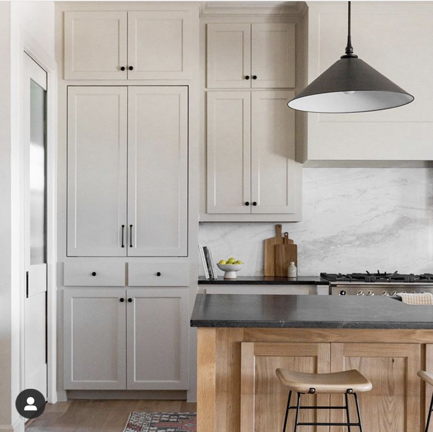 Pin By One 3rd Living On Kitchen In 2020 Neutral Kitchen Kitchen Tall Cabinet Storage