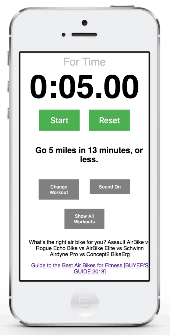 28 Awesome Assault Bike Workouts Get Started Now Assault Bike