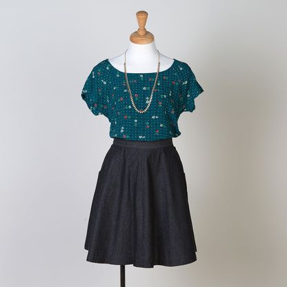 Shop now for modern sewing patterns for blouses, dresses, skirts and ...
