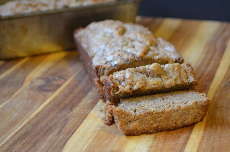 Healthier Banana Bread (lactation cake, too!)