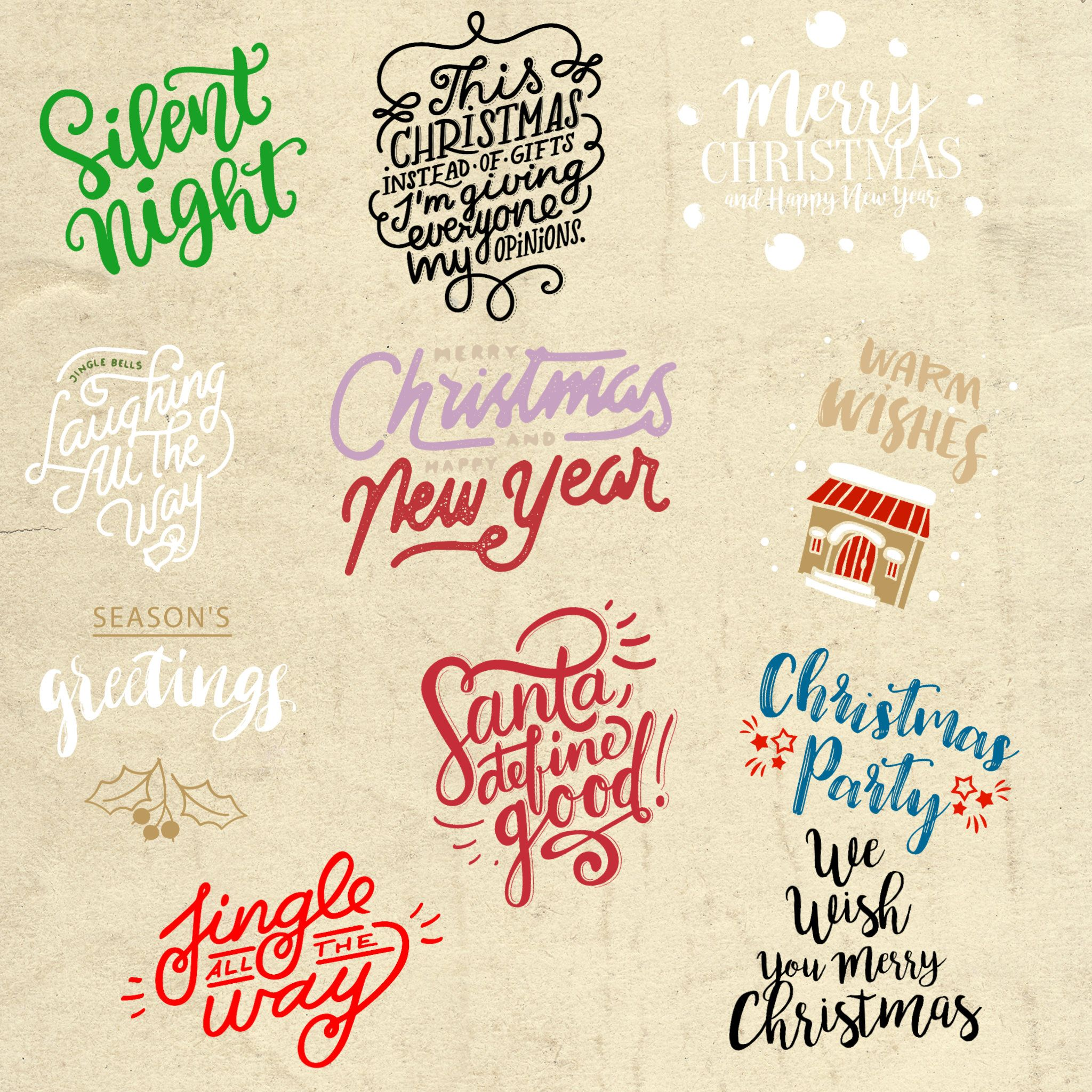 Pin On Christmas Fonts And Designs