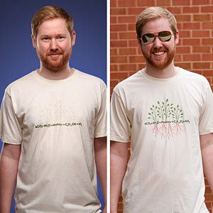 Photosynthesis UV-Sensitive Shirt.  So COOL!