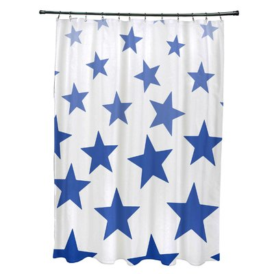 Breakwater Bay Petersfield Just Stars Single Shower Curtain Colour