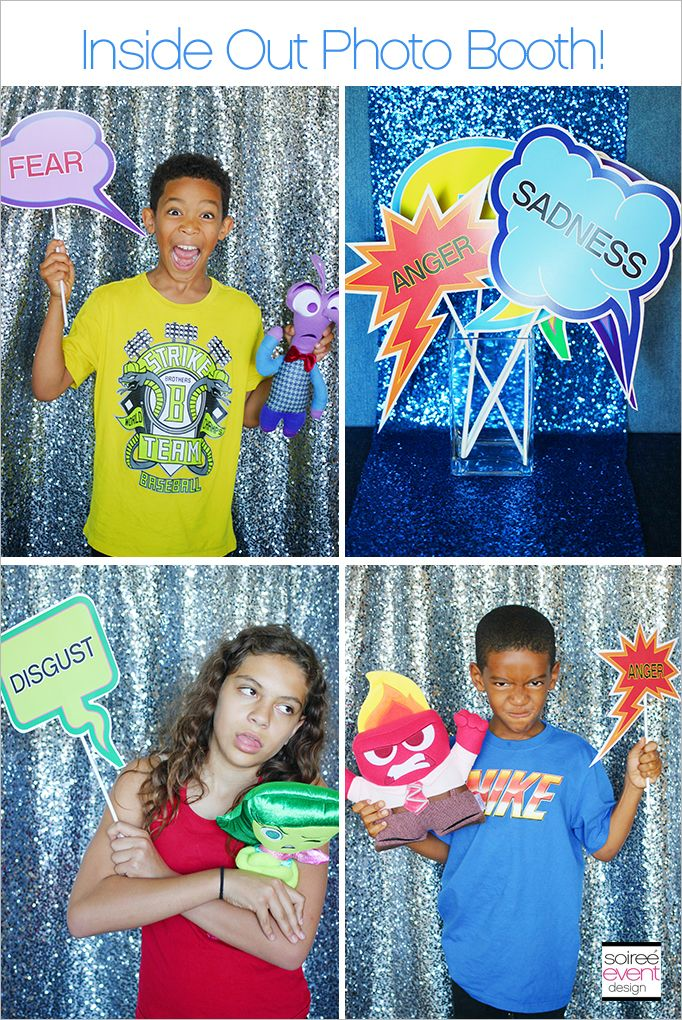 | Disney's Inside Out Party Ideas | http://soiree-eventdesign.com