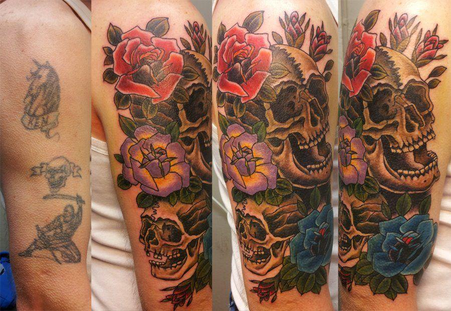 Cover Up Tattoo Ideas Skull Cover Up Tattoos Skullspiration Com Skull Designs Art Cover Up Tattoos Tattoos For Women Up Tattoos