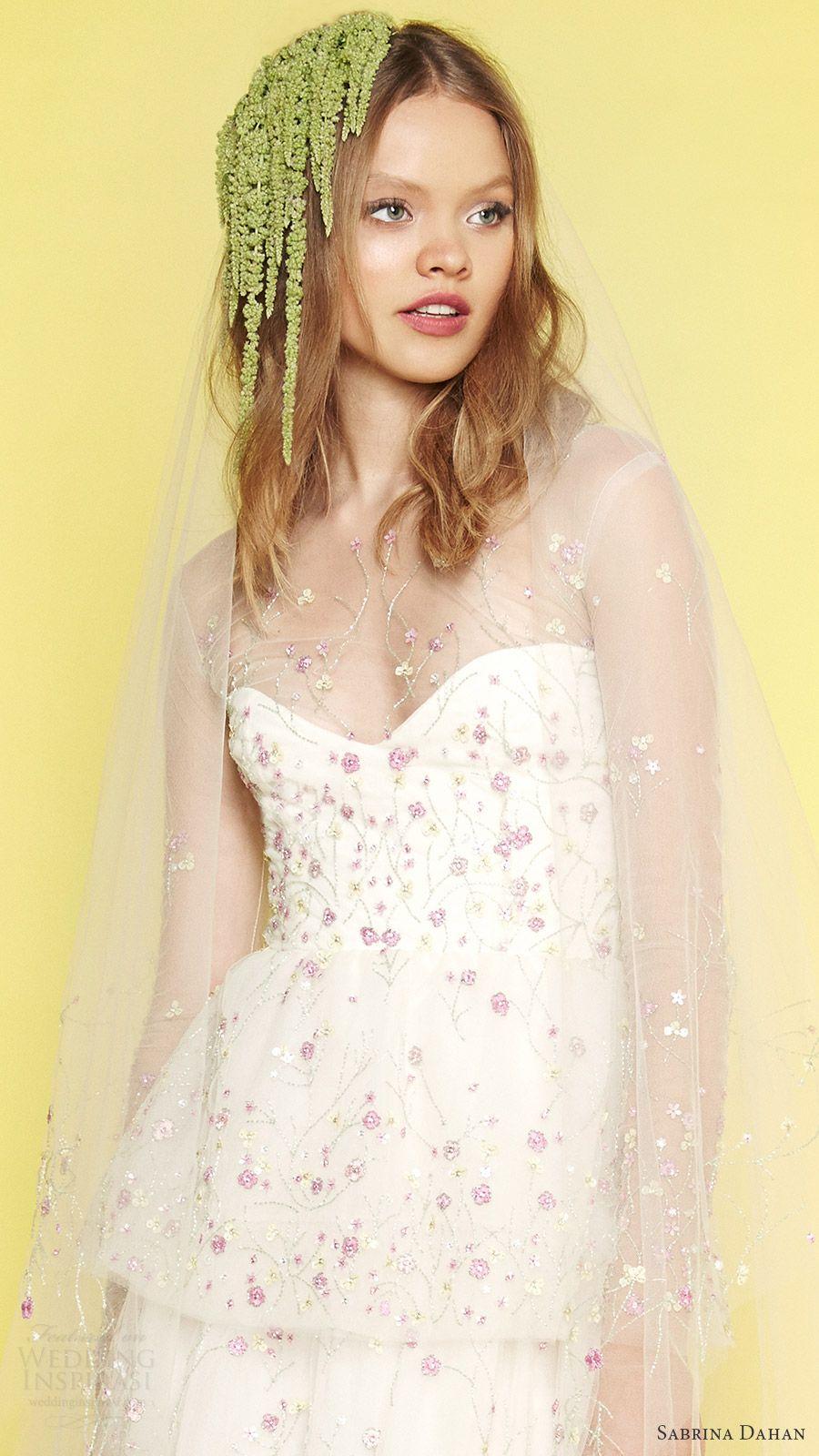 Sabrina dahan bridal spring 2017 wedding dresses wedding