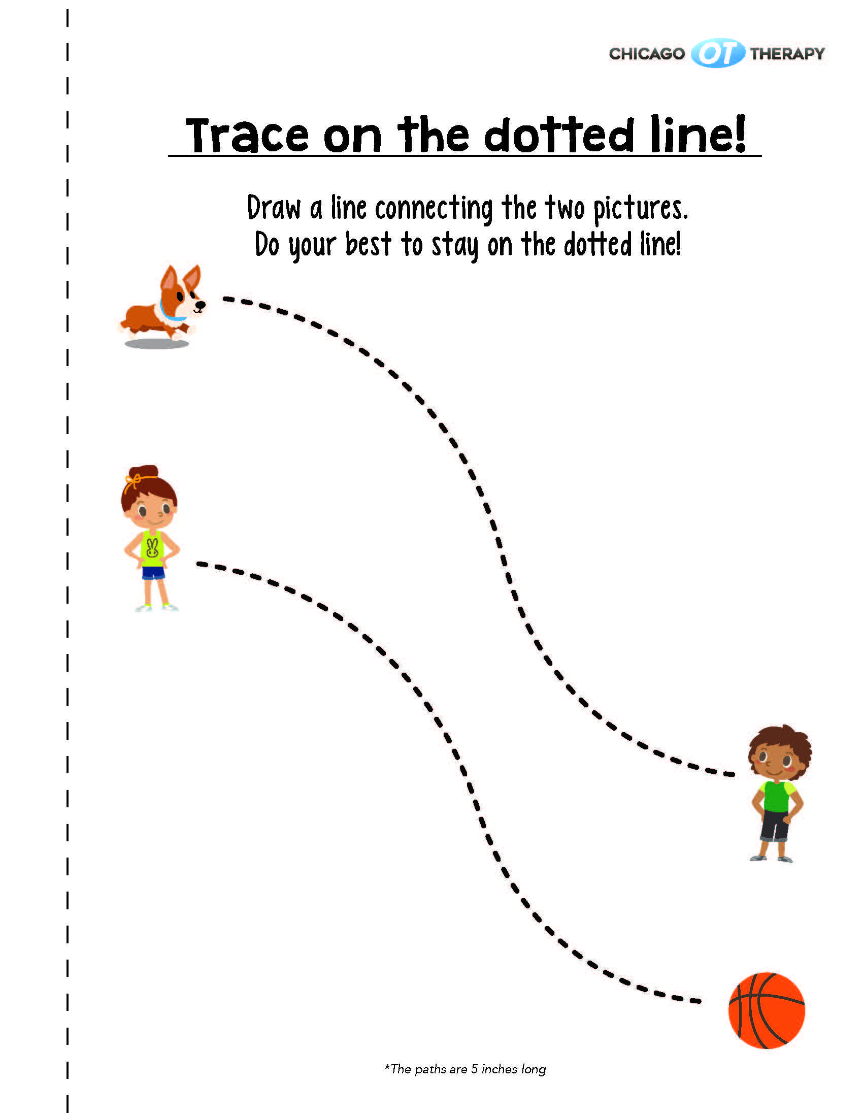Tracing Book Activity Worksheets