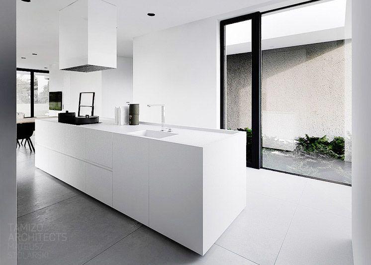tamizo architects mateusz stolarski r house 07 est magazine kitchen pinterest k che. Black Bedroom Furniture Sets. Home Design Ideas