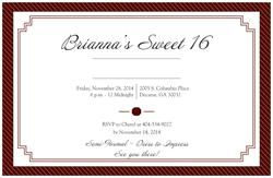 Did You Know Vistaprint Has Horizontal Flat Invitations 5 X7 Check Mine Out Cre Invitations Birthday Party Invitations Vistaprint Business Cards