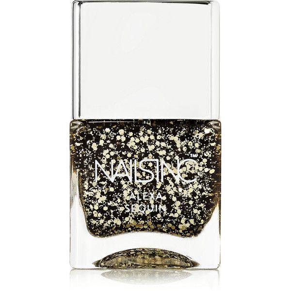 Nails inc Nail Polish - Alexa Sequins ($15) ❤ liked on Polyvore ...
