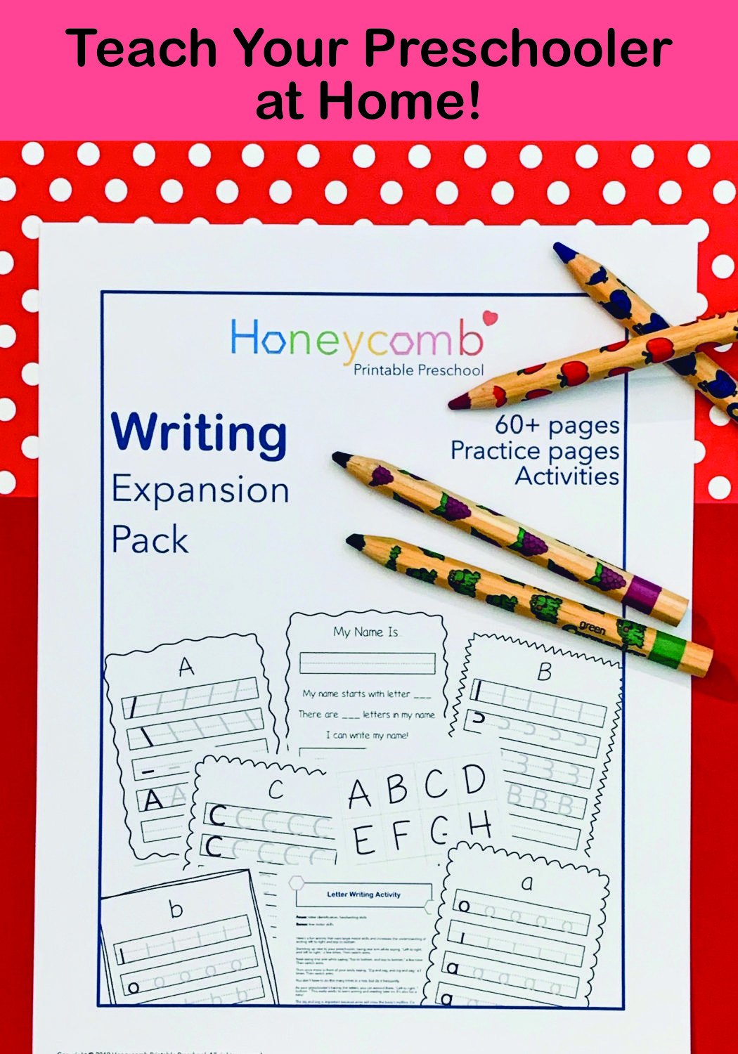Expansion Writing Pack