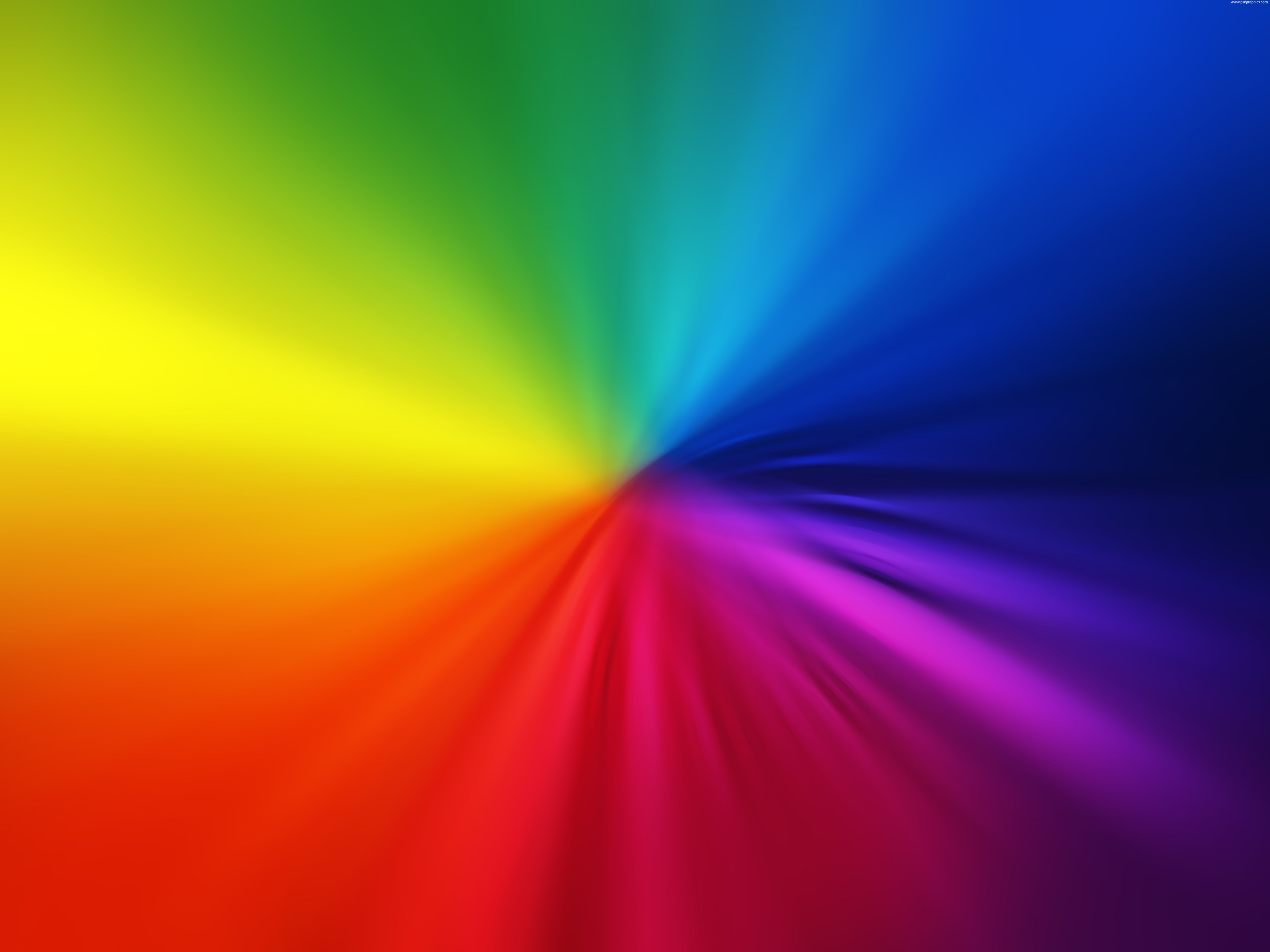beautiful blurry rainbow colors made with a soft colorful gradients hi res glowing background design - Rainbow Color