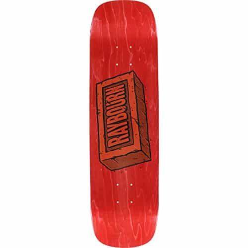 """Birdhouse Skateboards Ben Raybourn Brick Skateboard Deck – 8.38″ x 32″: Deck Size: 8.38"""" width x 32"""" length Birdhouse Skateboards Brick…"""