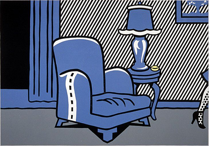 Roy Lichtenstein - La Sortie (State) (1996)