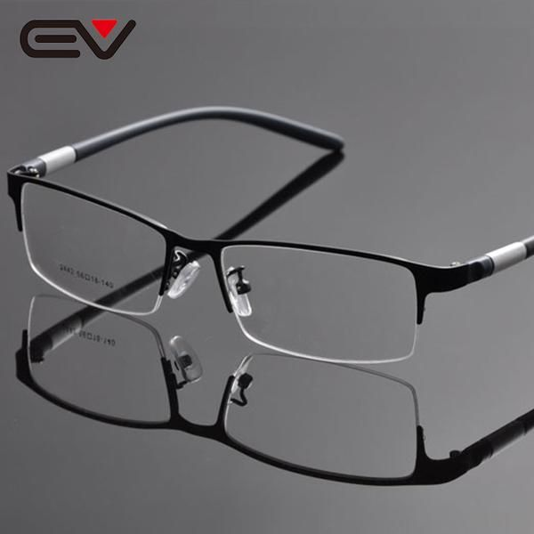 Ev Brand Men'S Reading Glasses Frame Half Rim Men Buffalo Horn Ev1054 is part of Reading glasses frames - Item Type Eyewear AccessoriesEyewear Accessories FramesPattern Type SolidModel Number EV1054Gender MenBrand Name EVFrame Material Stainless Steeltag optical frameUse prescription eyewearDesign reading glasses framesType Eyeglasses FramesType 2 Women's glasses frames eyewearType 3 glasses framesType 4 eye