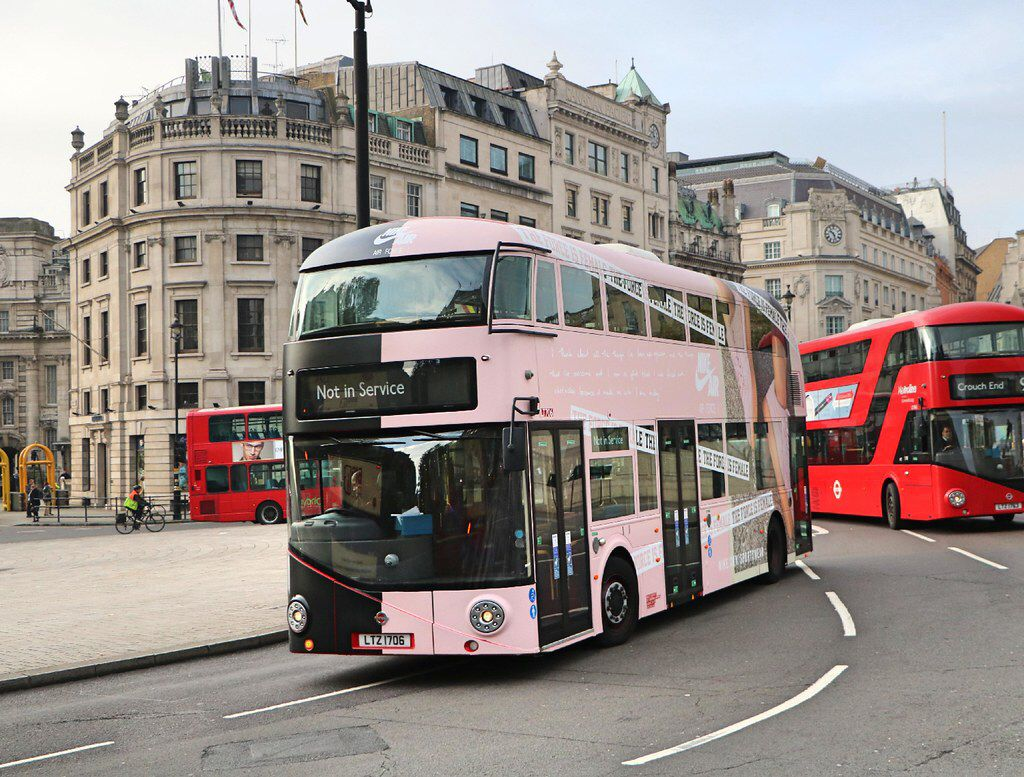 Abellio LT706 LTZ1706 Nike Force New routemaster