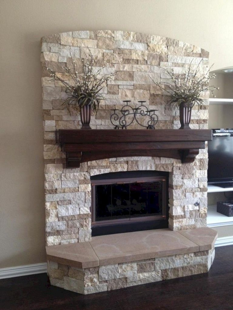 Top 23 Beautiful Marbel Fireplace Mantel Design Ideas For