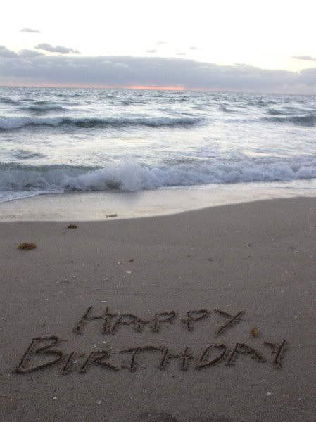 Happy Birthday Beach Images Cakes Friend Quotes