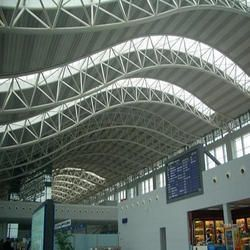 Space Frame Roofing Structure Arsitektur Kreatif