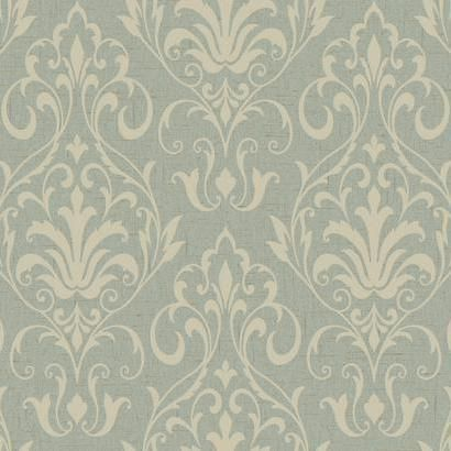 French Damask - Wallpaper