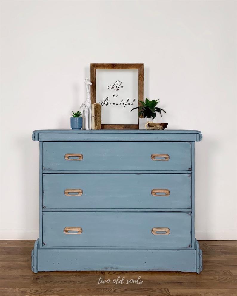 Vintage Blue 3 Drawer Heart Pine Wood Dresser Changing Table Etsy Changing Table Dresser Wood Dresser Solid Wood Dresser [ 993 x 794 Pixel ]