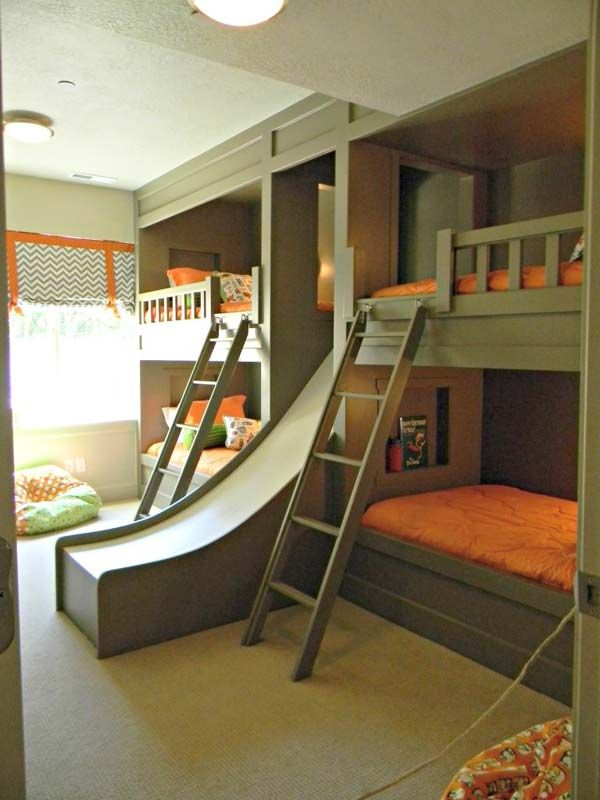 21 Most Amazing Design Ideas For Four Kids Room Cool Boys Room